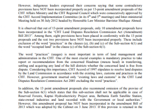 KF Report on Amendment of LC Act